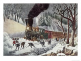 American Railroad Scene