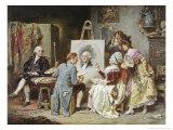 The Painter and President Washington