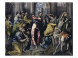 Christ Driving Moneychangers from Temple