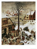 Census at Bethlehem  c1566
