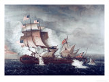 Battle of USS Constitution and HMS Guerriere  War of 1812