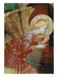 Detail of Angel of the Annunciation  c1432-3
