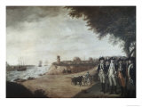 Washington at Yorktown After Surrender  c1781