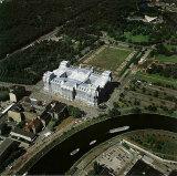 Reichstag Luftaufnahme von Ost nach West Gesamt