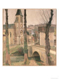 Bridge  Church and School at La Bastide