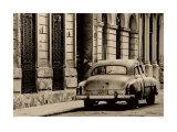 Vintage Car  Havana  Cuba