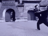 Couple Dancing  Jingshan Park  Beijing  China