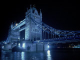The Tower Bridge and the River Thames  UK