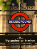 Underground Station  London  England