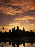 Sunrise at Angkor Wat Temple
