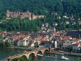 Aerial View of Heidelburg  Germany