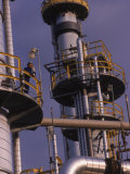 Exterior of a Oil Refinery  Ohio