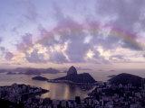 Sugarloaf  Guanabara Bay  Rio de Janeiro  Brazil