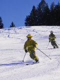 Firemen Telemark Skiing  CO