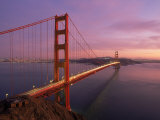 Golden Gate Bridge at Sunset  CA