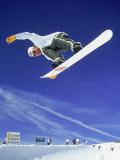 Airborne Snow Boarder