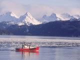 Fishing Boat  Kachemak Bay  Alaska