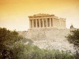 View of the Parthenon  Athens  Greece
