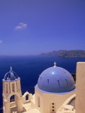 Greek Church  Santorini  Greece