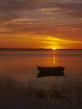 Boat & Cape Cod Sunset  MA
