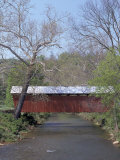 Simpson Creek Covered Bridge  Harrison County  WVA