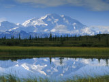 Tundra Ponds  Mt Mckinley  AK