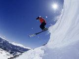 Man Skiing  Breckenridge  CO