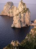 Island of Capri  Faraglioni  Italy