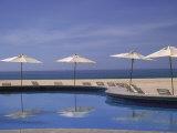 Pool and Umbrella  Cabo San Lucas  Mexico