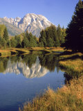 Mt Moran  Grand Teton National Park