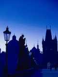 Old Town and Tower  Charles Bridge  Cent Bohemia