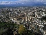 Granada from the Alhambra  Spain