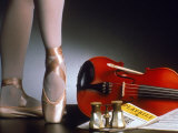 Playbill  Ballerina Legs and Violin