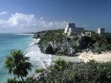 El Castillo  Tulum  Yucatan  Mexico
