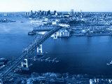 Aerial View of Boston  MA