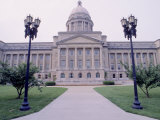 Capitol Building in Frankfort  KY