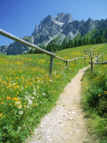 Trail to the Sexton Sundial  Sesto  Italy