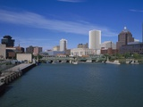 Skyline  Genessee River  Rochester  New York