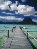 Scenic Dock off Motu Tapu  Bora Bora