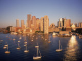 Boston Skyline  MA