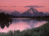 Dawn  Oxbow Bend  Grand Tetons  WY