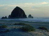 Haystack Rock  Cannon Beach  ORegon Coast  OR