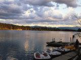 Mirror Lake  Lake Placid  Adirondacks