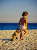 Toddler on the Beach  Miami  FL