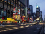 Times Square  Looking North  Dusk  NYC