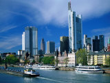 Cityscape of Frankfurt  Germany