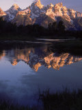 Dawn  Grand Tetons  WY