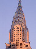 Chrysler Building at Dusk  New York City