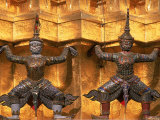 Wat Phra Kaen  Grand Palace  Bangkok  Thailand