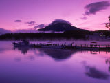 Mt Akandake and Lake Akando  Dawn  Japan